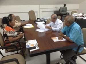 Reunião do SINTPREVS/PA com Secretário Estadual de Saúde, Hélio Franco
